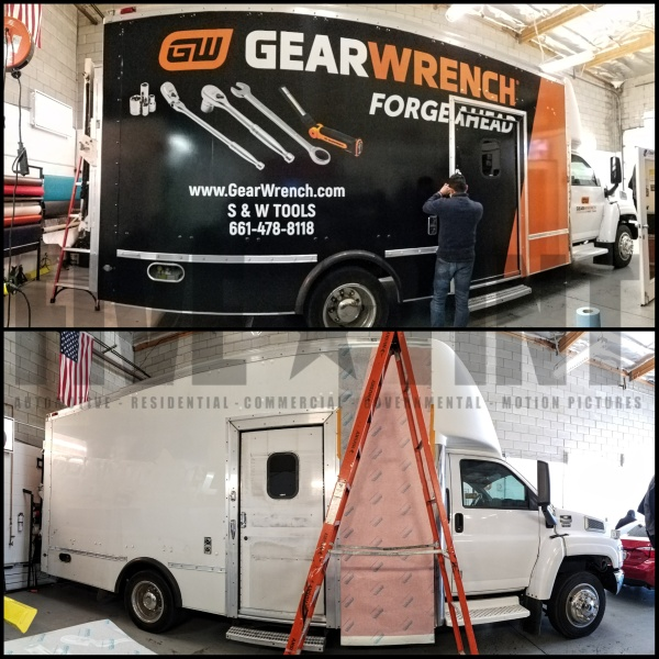 Fleet Vehicle Wrap